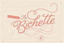 Typographie / toutes les polices de caractère qui me plaisent !