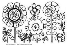Drawing & Design Inspiration - Flowers / by Floating Cloud