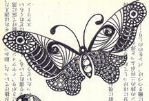 Drawing & Design Inspiration - Butterflies / by Floating Cloud