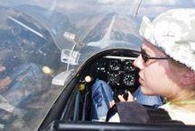 Vol à voile / Gliding / « Prendre de la hauteur », prendre du recul sur le quotidien, se façonner un autre regard sur le monde...