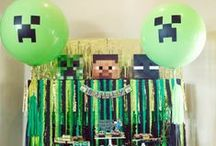 Minecraft Craze / I can't believe I have a Minecraft board but I do. My boys love this game.