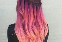 Hairstyles & Colours / Collection of colorful hairstyles and DIY tutorials
