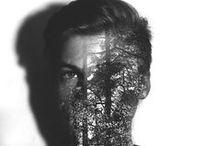 Obscura Glitch Mask / somewhere between faerie and cyberpunk