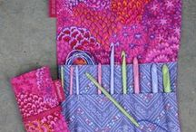 Knooking! / Want to knit with your crochet hook?  Yes, you can!  And we have the tools to make it possible.