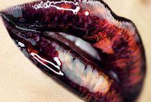 Lip Art / Look book of great Lip Art ideas