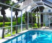 """Island Time Begins Here / Welcome to your new luxury vacation rental home on Pine Island, Florida, where everyone is on """"Island Time.""""  This lovely, custom-built, pet-friendly pool home on Tamarac Drive is located on the par-five sixth hole of Alden Pines Golf Course–the ONLY golf course on Pine Island"""