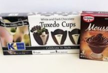 Dessert Cups / Kane Candy Chocolate Dessert Cups now available in 9 award winning varieties!   www.KaneCandy.com  / by Kane Candy ~  Chocolate Cups, Chocolate Party Cups & Dessert Cups