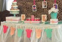 Birthdays / Inspiration for birthday parties. Decorating, wreaths, treats, party favors, party styling, table layouts, gifts, birthday party themes and invitations.