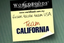 Team California / These are the reviews of the California team as part of our US Fusion Taste Team! The more comments, repins and likes you give California, the more chance they have of winning our contest. Join us on Facebook as WORLDFOODS Fusion of Flavours to see more and for your chance to win sauces! / by WORLDFOODS