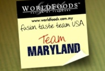 Team Maryland / These are the reviews of the Maryland team as part of our US Fusion Taste Team! The more comments, repins and likes you give Maryland, the more chance they have of winning our contest. Join us on Facebook as WORLDFOODS Fusion of Flavours to see more and for your chance to win sauces!