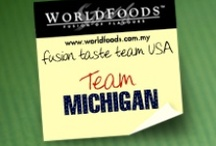 Team Michigan / These are the reviews of the Michigan team as part of our US Fusion Taste Team! The more comments, repins and likes you give Michigan, the more chance they have of winning our contest. Join us on Facebook as WORLDFOODS Fusion of Flavours to see more and for your chance to win sauces!
