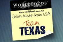 Team Texas / These are the reviews of the Texas team as part of our US Fusion Taste Team! The more comments, repins and likes you give Texas, the more chance they have of winning our contest. Join us on Facebook as WORLDFOODS Fusion of Flavours to see more and for your chance to win sauces!