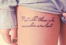 Tattoos & Piercings / by Samantha Bante