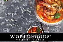 Simple Asian E-cookbook Recipes / by WORLDFOODS