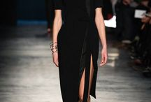 visions - my style fall '14 / body fitting maxi sweater dresses / by liliana emmolo