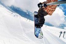 Snowboard / Winter sports, Ski and Snowboarding style