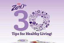 Zer0% 30 Tips for Healthy Living / Your partner for a healthier lifestyle