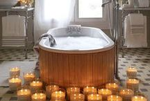Bathrooms and Spa / Lovely bathrooms and relaxation areas from Roomly.se