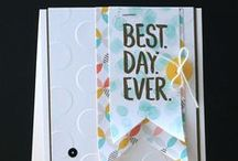 Stampin' Up! Occasions Catalog 2015 & Sale-A-Bration 2015 / Stampin' Up! Occasions Catalog 2015 cards, kits and craft ideas. #stampinup #stampinfool #crafts