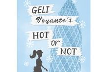 Geli Voyante's Hot or Not / Inspiration for my second chick lit novel. Geli Voyante's Hot or Not is out now: http://www.amazon.co.uk/Geli-Voyantes-Hot-Elle-Field-ebook/dp/B00FY12QUM