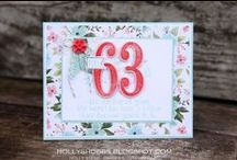 2016 Spring Occasions Catalog Stampin Up! / 2016 Spring Catalog Stampin Up! cards and crafts including gift bags, tags and handmade cards.  DIY, crafts, scrapbooking and more all from the new Spring Occasions Catalog from Stampin Up.