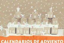 calendarios de adviento DIY / calendarios de adviento. Navidad
