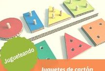 Juguetes de cartón / Encuentra 100 maneras de hacer juguetes reciclando cartón. Juguetes low cost