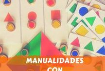Manualidades con gomets / Todo tipo de actividades con gomets para divertir a los niños