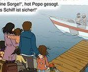 Flucht, Geflüchtete, Flüchtlinge - refugees