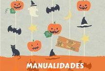 Decoración Halloween DIY / Manualidades y decoración DIY para Halloween.