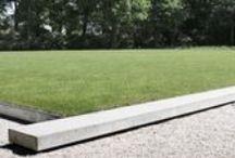 work Andrew van Egmond (designing garden and landscape)