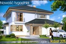 Nowości 2012 / 2013 / Najnowsze propozycje projektowe architektów z pracowni MG Projekt. / by MG Projekt | Projekty Domów