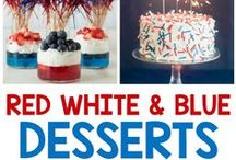 The Red, White & Blue! / by Cindy Eikenberg (Little Miss Celebration)