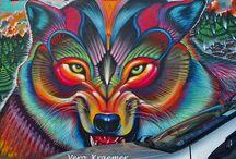 Grafitti / Street Art / Uma das coisas que eu mais AMO na minha vida!!! Como diz meu amigo Alex Senna, São Paulo é a meca do grafitti!