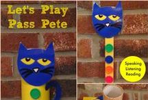 Pete the Cat in the Classroom / Do you love Pete the Cat books?  I do!