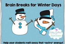 Winter Ideas for the Classroom / Winter Literacy, Math, Science, and Art Activities for the Classroom