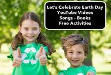 Earth Day / Ideas for the early childhood classroom using recyclable materials.  Art projects, STEM, children's books, and more.