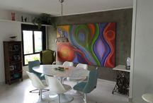 Telas / Amo telas! Elas fazem a diferença na decor! #tela #painting #decor #decoracao
