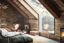 Sótão / Desde criança sonho em morar num sótão. O lugar mais lindo e misterioso de uma casa!