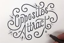 Just my type (and lettering!) / by Victoria McGinley