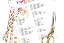 Birthday Party Ideas / Party ideas, theme Birthday decor, recipes and snacks and more