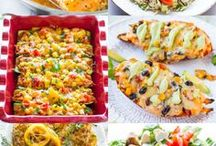 Healthy Dinner Recipes / Healthy dinner recipe ideas for the whole family to enjoy!