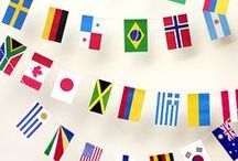Olympics / Olympic themed parties, food, treats, and crafts to celebrate the 5 colored rings!