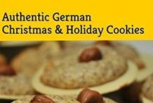 German Christmas Cookies / Find authentic German Christmas Cookies on www.mybestgermanrecipes.com - the best cookies of the world! Have them for Christmas or throughout the year. If you like a certain recipe to get in English send me a message. Pinning Rules: We delete pics if you - post a pic without a link to a website - post multiple pics of the same kind - bad quality pics - pics that are not 100% German. This is a high quality board.