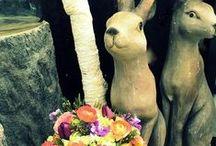Easter/spring Flowers by Design /  March 27,2016 Easter Sunday flower inspiration and spring arrangements.  Order online, call, or visit at Drake's 7 Dees