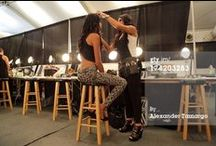 Behind The Scenes / On location at some of the biggest style events.