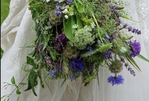 Locally Grown Bouquets / Bouquets that are created mostly with locally grown flowers, herbs and other botanical's.