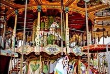 Carousels...Climb Aboard / by Debra Irwin