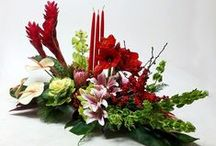 Portland holiday flowers / Portland Christmas flowers you can order and other Inspiring flowers and decorating ideas for the cold winter months.