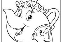 Free Disney Coloring Pages / All things Disney! Coloring pages for your Disney fans!